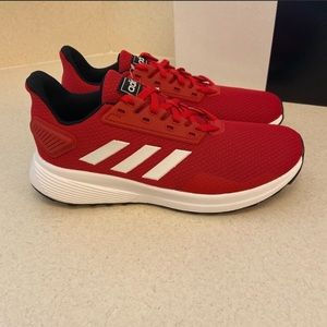 Adidas Duramo red sneakers